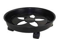 360 angle removable plastic houseware rack plant pot stand with wheels