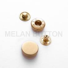 Cheap price custom made logo metal jeans button and rivet for Clothes Coat Jacket