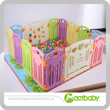 Baby Round Playpen Large Plastic Portable Baby Playpen Fence With Gate Colorful Baby Playpen