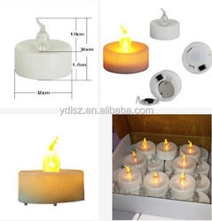 led memorial grave candles module /electronic components for candles/ cemetery grave memorial light module