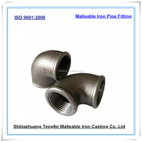 black malleable iron elbow plumbing pipe fittings,black cast iron pipe fittings