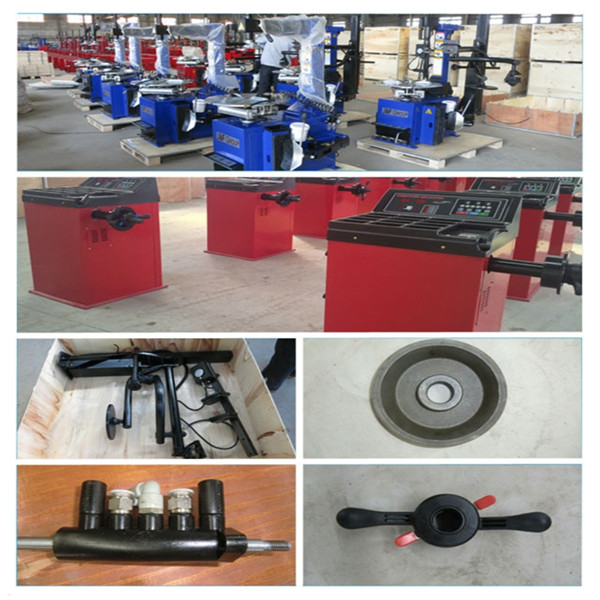 semi- automatic car tyre changer