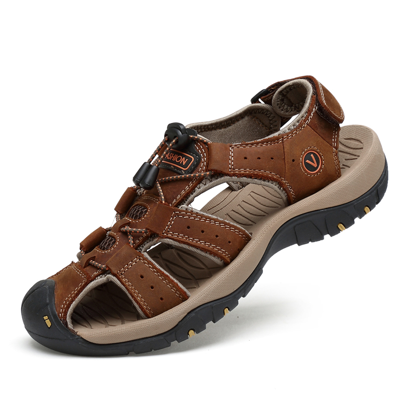 sport leather <strong>sandals</strong> for men