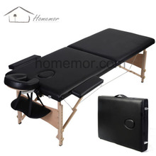 "New 84"" Black Portable Massage Table w/Free Carry Case"