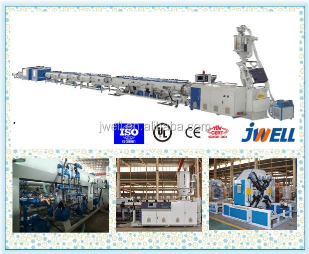 JWELL - 65/33 standard extruder PE recycled 20-63 pipe line