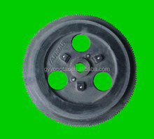 Agriculture tractor forged flywheels with ring gears