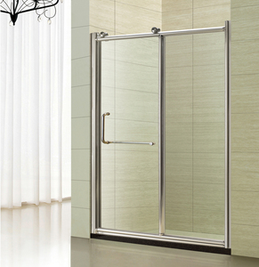 modern bathroom glass wall shower cabin hot selling sliding shower door