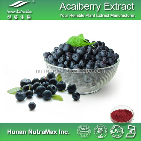 Acaiberry Extract Acai Berry Fruit Extract Powder with health food ( :1 5:1 10:1 20:1)