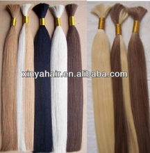 Top grade quality wholesale price Virgin Peruvian 24 inch human braiding hair