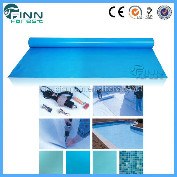 Swimming Pool Accessories Waterproof Blue Color Customized Above Ground Pool Liner Buy Above