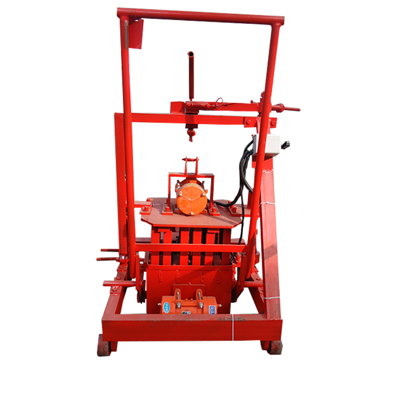 OEM manufacturer mobile type ecological brick machine