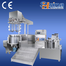 laboratory vacuum emulsifying mixer machine for cream and liquid