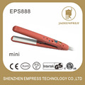 Mini Travel Pro Ceramic Hair Iron Hairdressing cut Fast Hair Straightener car socket type mini hair straighteners EPS888