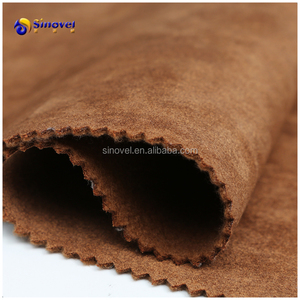 Synthetic suede fabric used for sofa upholstery