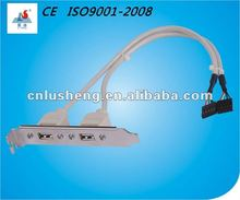usb cable with bracket