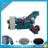 Energy Recycling waste tire powder production line _Rubber powder grinding machine
