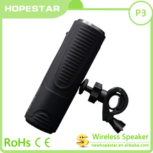 Mini Portable with flashlight waterproof bluetooth speaker for hold on bicycle sport use speaker