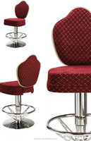 Modern design fabric cover swivel bar stool chair /Casino chair