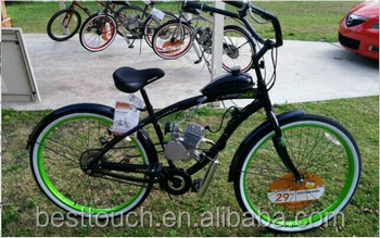 2 cycle 80cc Motorized Bicycle scooter with the gasoline engine