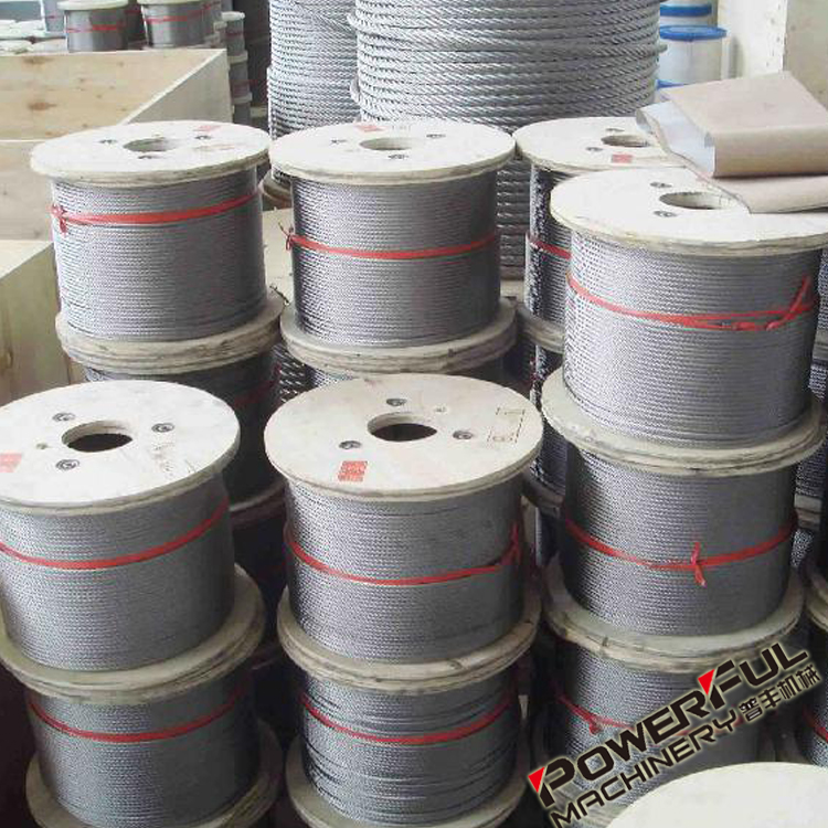 4mm Thin and Strong Non Rotating Steel Wire Rope For Lifting and Bridge Fixings