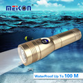Meikon powerful flashlight recharge LED flash light diving light 10W 700 lumens aluminium CERR T6 led Torch