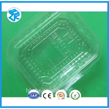 transparent pvc clear waterproofing blister packaging plastic type pyramid gift box