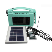 China Home appliances portable LCD 7inches Mini Mobile solar power TV