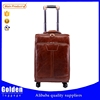 PU 20 24 28 inch trolley luggage leather luggage 360 degree wheel luggage set