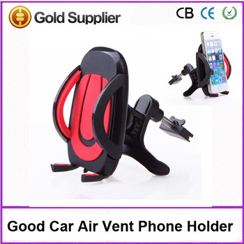 Super High Quality Cellphone Car Air Vent Holder 50-95mm Retractable Arm Universal Mount for iPhone Samsung Smartphone
