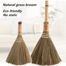 natural vietnam grass sweeping broom brush