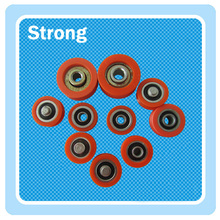 low noise customized high quality plastic Cable laying guide pulley/roller/wheel