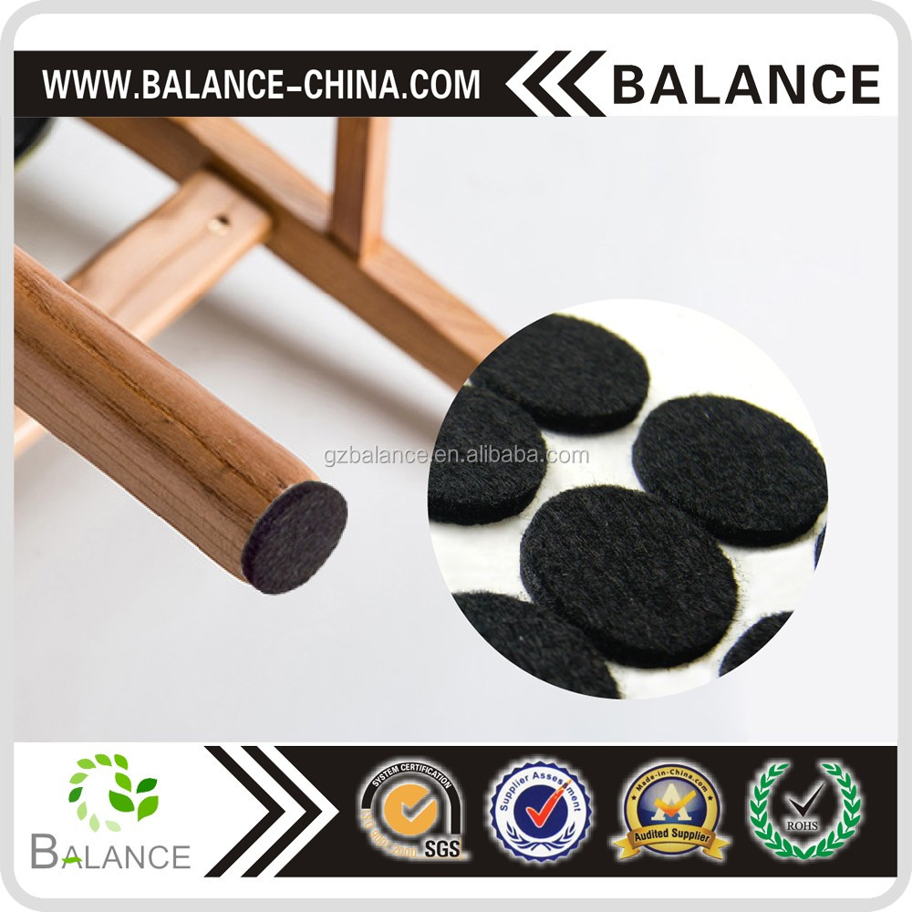 Adhesive felt pad for furniture leg protector