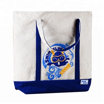 Tote cotton shopping calico canvas bag with logo printing