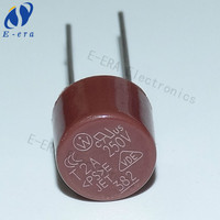 Thermal fuse 2A T2A 250V 5mm DIP T2.0A round fuse