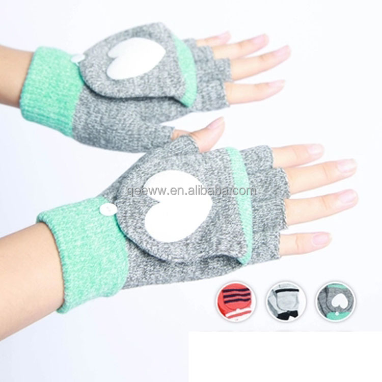 Yhao Touch Sreen Gloves For Smart Phone Cheaper Price Knit Mittens 2017 Winter Warm Touch Screen Gloves