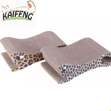 Factory Pet Suppliers Carriers Corrugated Cardboard Cat Scratcher