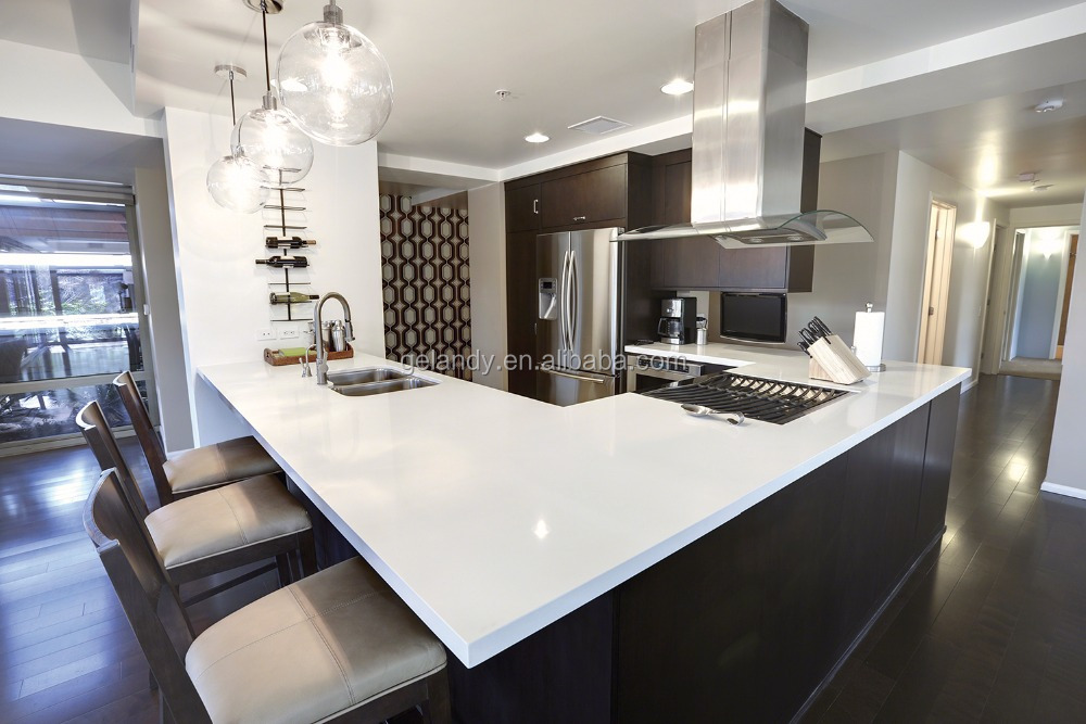 sparkle white galaxy quartz stone countertop