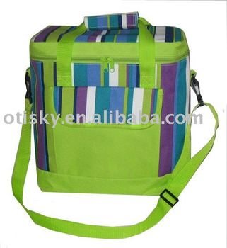 Picnic bag shoulder insulated cooler bag