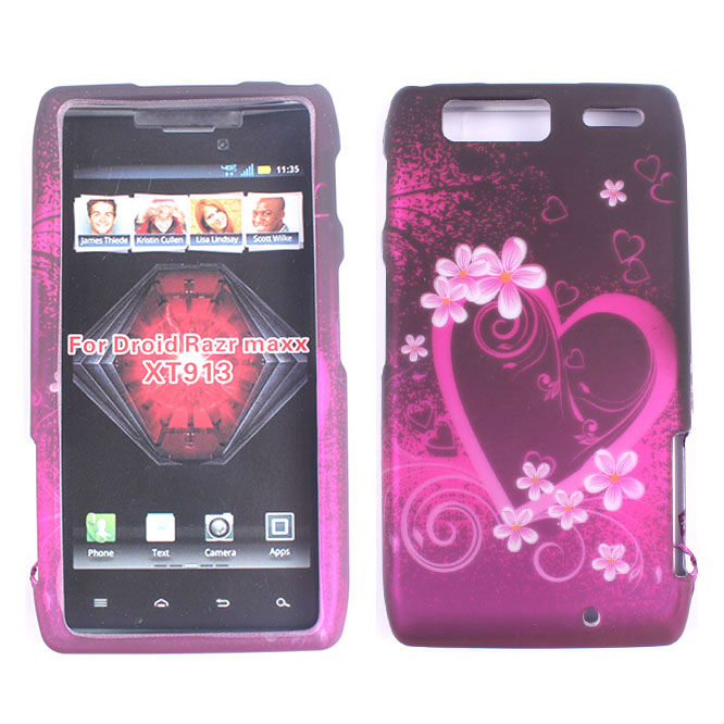 Mobile Phone Decal Skull Case, Design Case For Motorola Droid Razr MAXX XT913 snap on ,design case