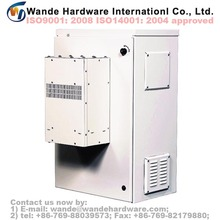 Outdoor Weatherproof Data Telecom Powder Coated Sheet Metal Steel Electric Switchgear and Control Panel Cabinet