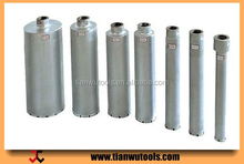 TIANWU long life-span core drill bit for reinforced concrete drilling