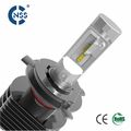 NSSC 5S Fanless H4 LED Headlight Bulb with 3500LM output and Emark Approved