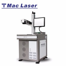 MAC 20 watt MOPA fiber laser marking lazer etching machine for pen / knife / wire