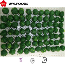 Frozen Spinach , IQF spinach ball 2016 new crop low price high quality
