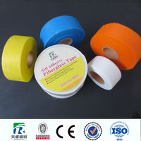 Blue Fiberglass adhesive waterproof mesh tape