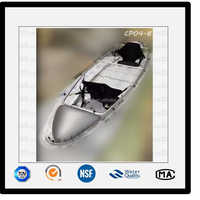 Transparent Crystal Clear Kayak 2 Person