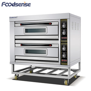 16kw 2deck 2plate bread maker electric oven, gas oveb double deck electric bread oven