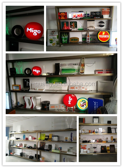 acrylic LED sign box