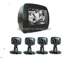 Hot Selling Store Guard China Factory Best Price DIY Easy Installation Night Vision 4 CCTV Cameras & Security Monitoring Kit