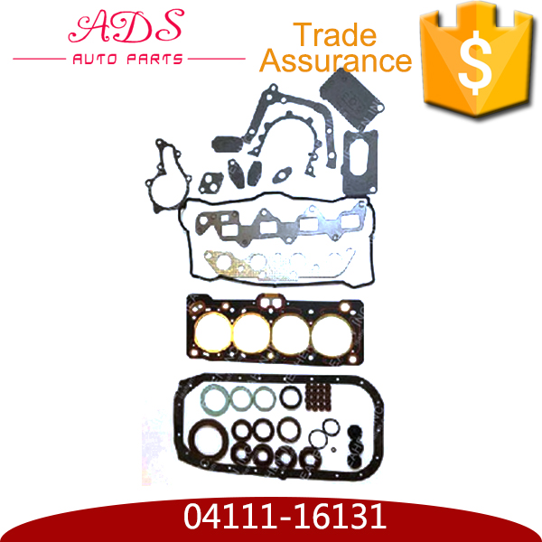 Wholesale high quality auto engine chasis parts engine gasket set for Toyota Corolla with OEM: 04111-16131